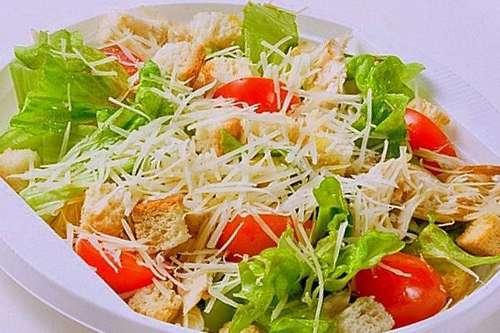 Салат цезарь с курицей рецепт-фото