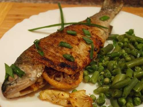 Речная рыба на сковороде рецепт с фото