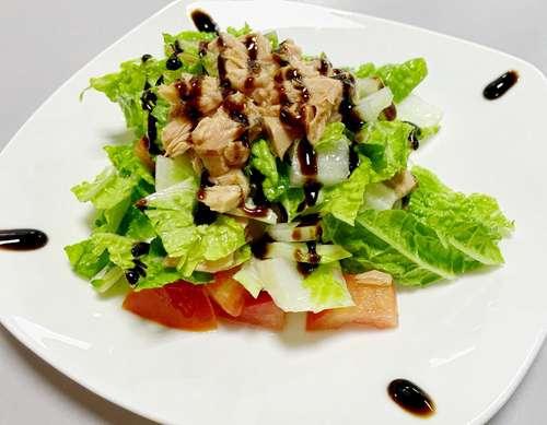 Салат с тунцом консервированным постный рецепт с пошаговым