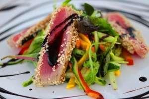 несмотря салат с тунцом черри и кунжутом отметиться