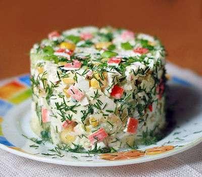 Как сделать простеньки салат - Music-cvetov.ru