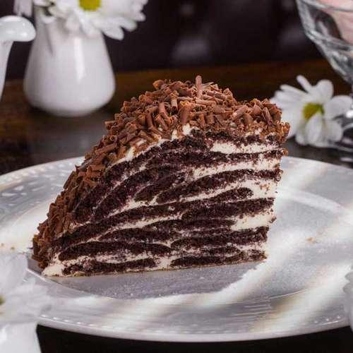 Шоколадный торт черепаха со сметанным кремом рецепт