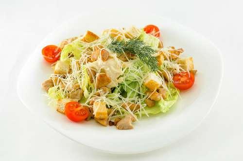 цезарь с куриной грудкой салат рецепт с фото