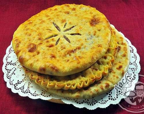 Осетинский пирог на сковороде рецепт с фото