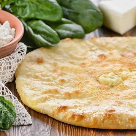 взята этого осетинский пирог с сыром творогом и зеленью Луна