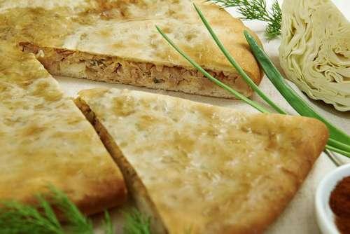 Осетинские пироги с капустой и сыром рецепты пошагово