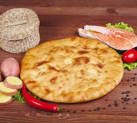 Осетинский пирог с семгой