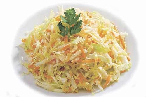 рецепт салата с капустой и морковью и уксусом