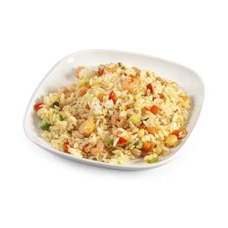 Рис с креветками и соевым соусом рецепт