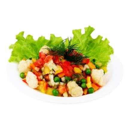Салат-коктейль овощной фото