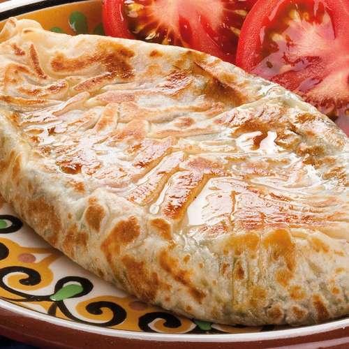Самса с сыром и зеленью рецепт