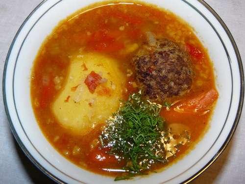 Суп долма рецепт
