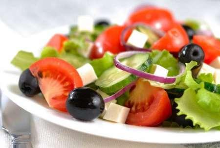 Фото салата греческий
