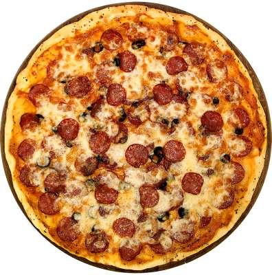 Как сделать пиццу из жидкого теста
