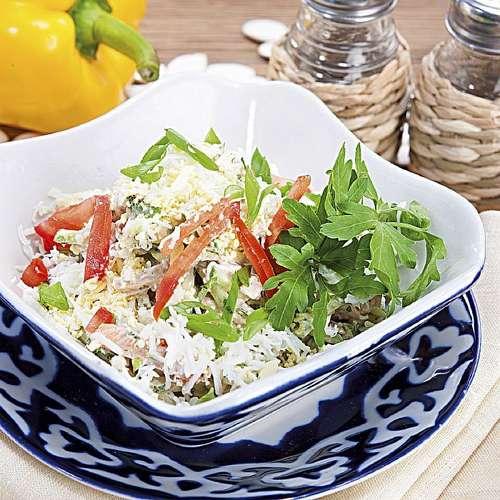Салат папарать кветка рецепты с фото