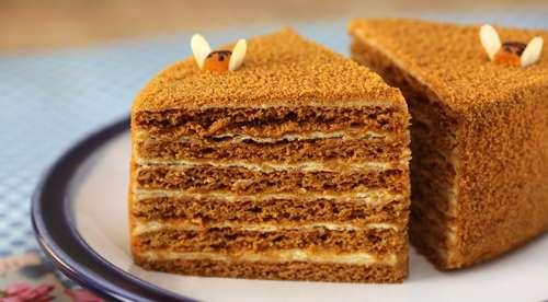 медовые торты фото-рецепты