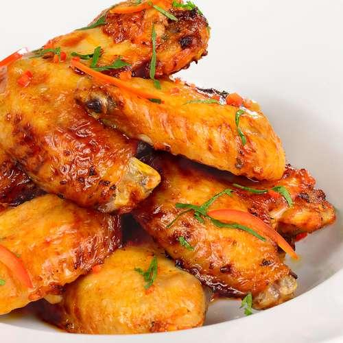 Рецепт жареные куриные крылышки