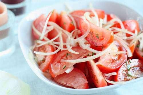 салат рецепты с луком фото