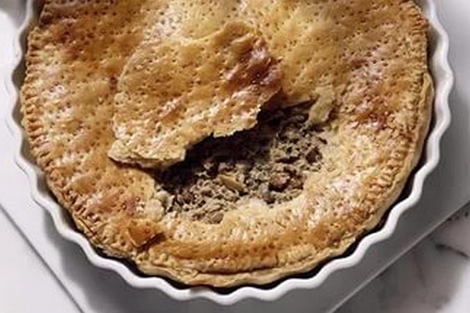 Печеночный пирог рецепт с фото