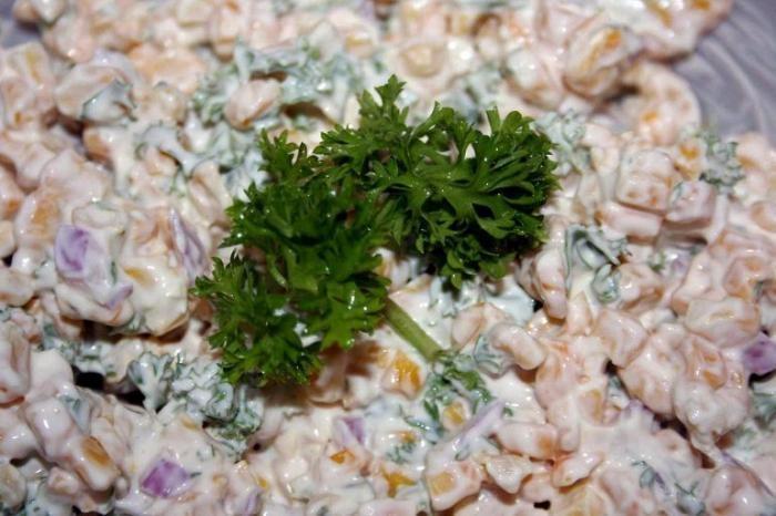 Фото приготовления самых простых способов салата