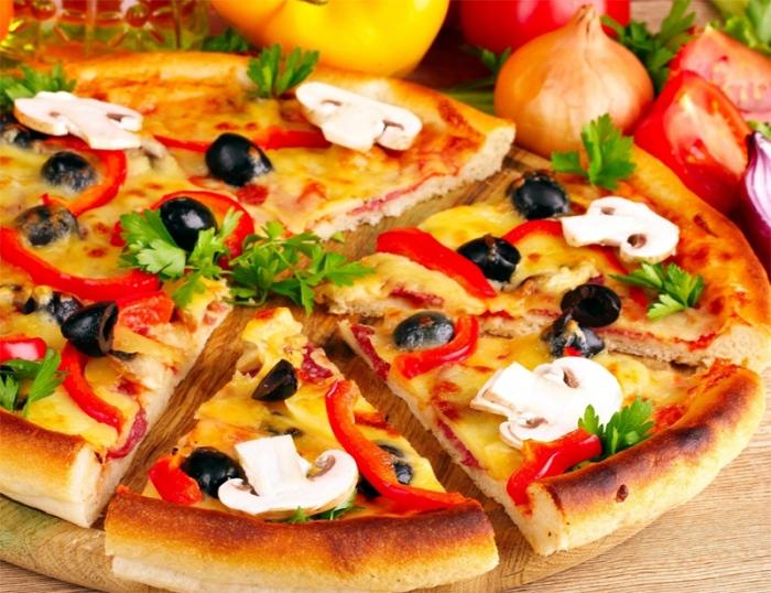 Идеи вкусной пиццы