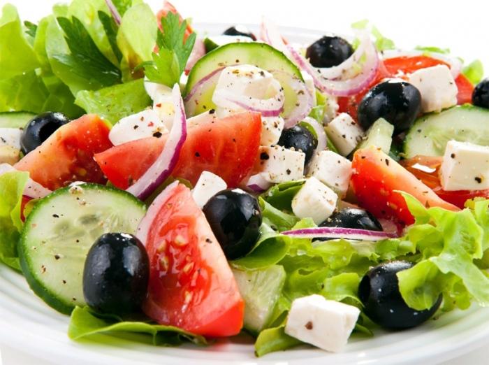 Греческие салаты
