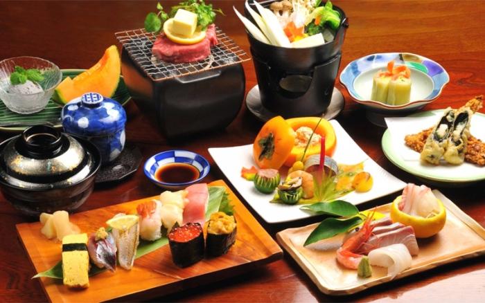 Роскошные японские блюда