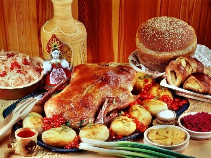 Древнерусская еда