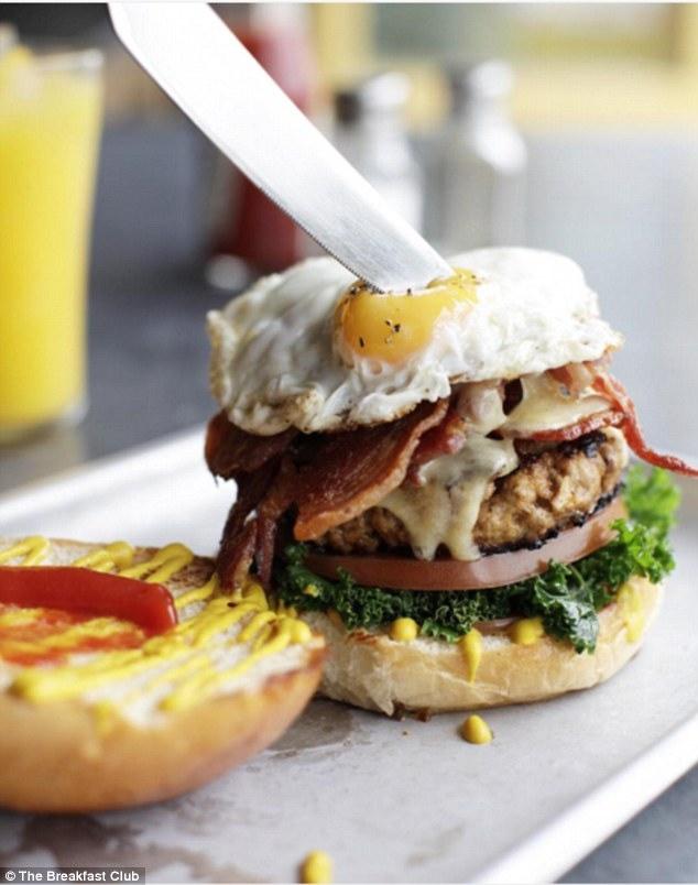 Аппетитный бургер