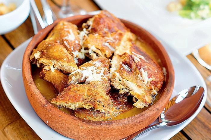Блюдо грузинской кухни