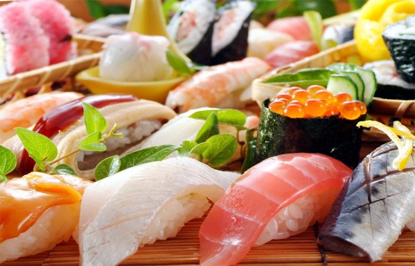 Доставка суши роллов на заказ