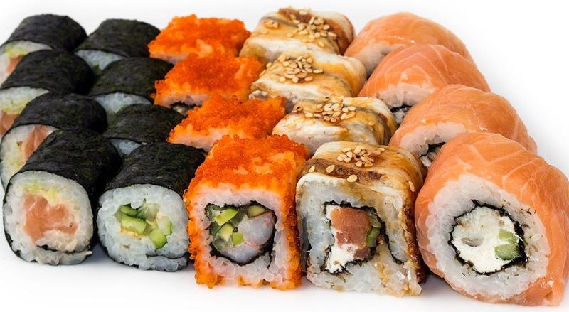 Доставка суши в железнодорожном на заказ