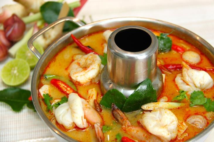 Тайский суп
