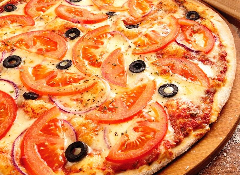 красиво оформленная пицца фото киева, любит